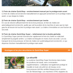 quickstop super stihl