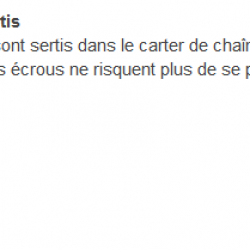 ecrous sertis